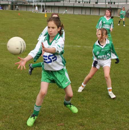 Action from the under 12 Go Games blitz.