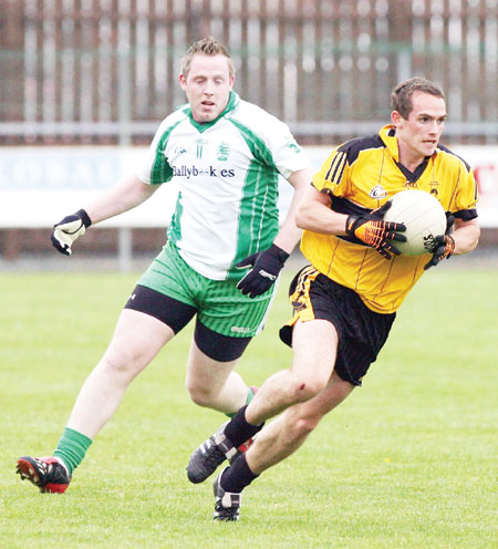 Action from the senior championship against Saint Eunan.