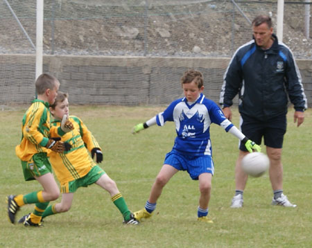 Action from the 2010 Mick Shannon tournament.