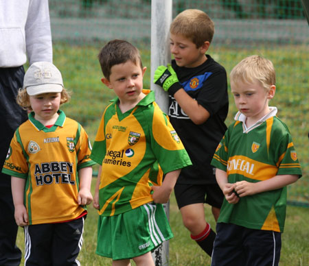 Action from under 8 training in Páirc Aoidh Ruaidh.