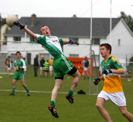 Action from the Óg Sport county finals.