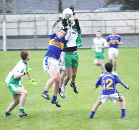 Action from the under 18 county championship game against Kilcar.