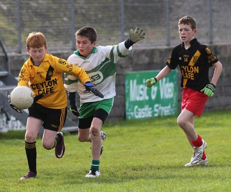 Action from the under 13 county league game against Bundoran.