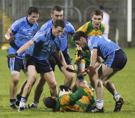 Action from the Peter Boyle's senior inter-county debut for Donegal.