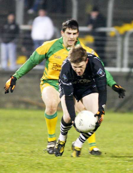Action from the Peter Boyle's second senior inter-county gamefor Donegal.