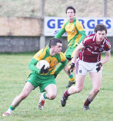 Donegal v Galway under 21 challenge match.