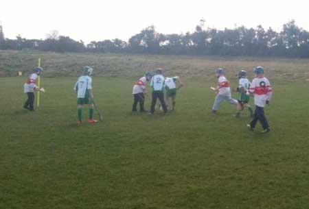 Action from the under 10 blitz at Setanta.