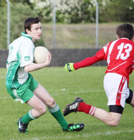 Action from the under 16 Southern Regional final between Aodh Ruadh and Dungloe.