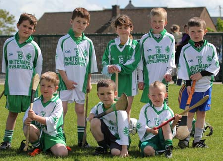 Action from the  under 8 blitz in Ballyshannon.