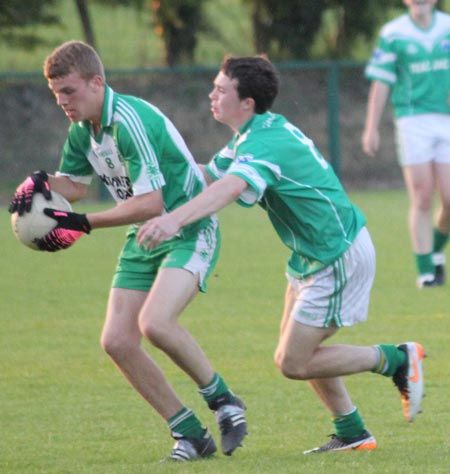 Action from the under 16 county league final between Aodh Ruadh and Gaoth Dobhair.