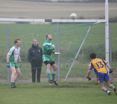 Action from the league match against Burt.