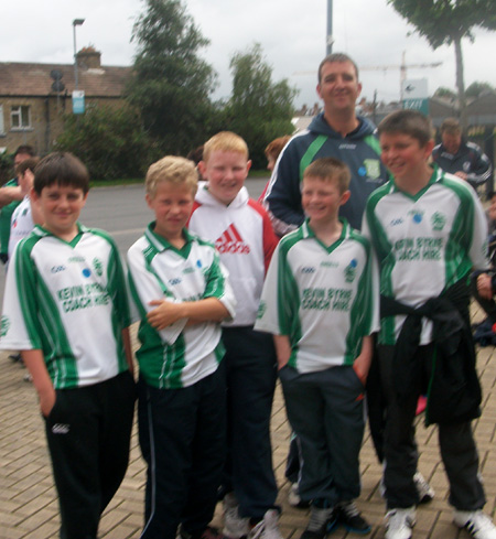 Pictures from Aodh Ruadh's underage hurlers' trip to the All-Ireland semi-final