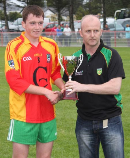 Action from the under 16 final in Dungloe.