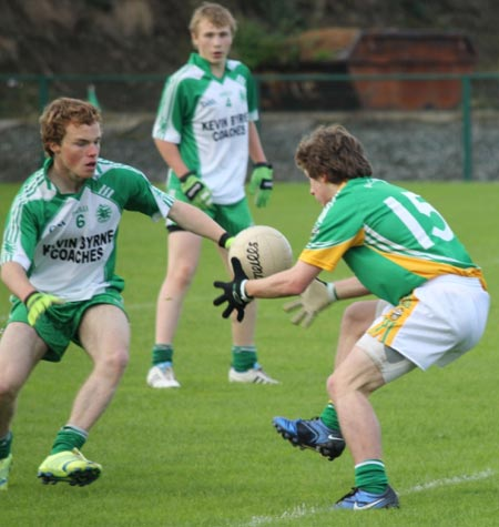 Action from the under 16 county championship semi-final against Buncrana.
