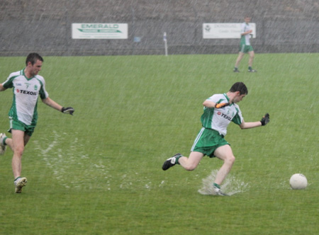 Action from the minor final against Ardara.