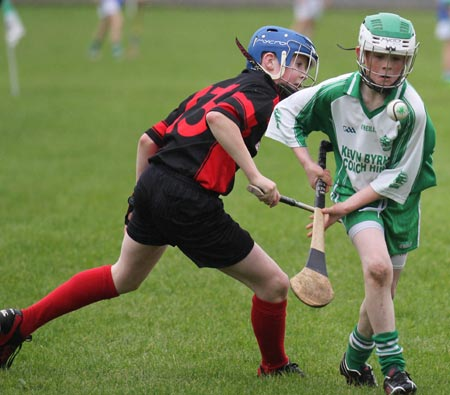 Action from the Aodh Ó Dálaigh tournament in Father Tierney Park.