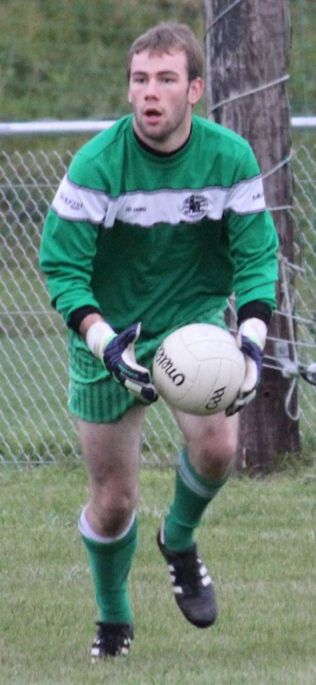 Action from the league match against Naomh Br�d.