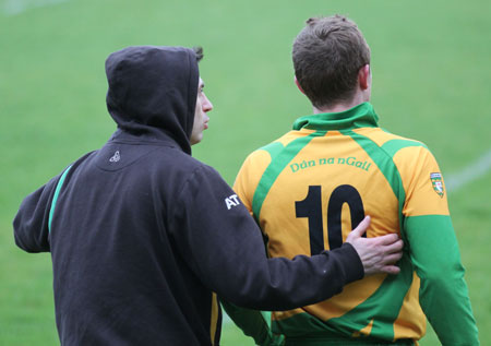 Action from the Power NI Dr McKenna cup match against University of Ulster, Jordanstown.