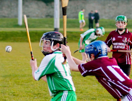Action from the under 14 Aodh Ruadh v Letterkenny Gaels game.