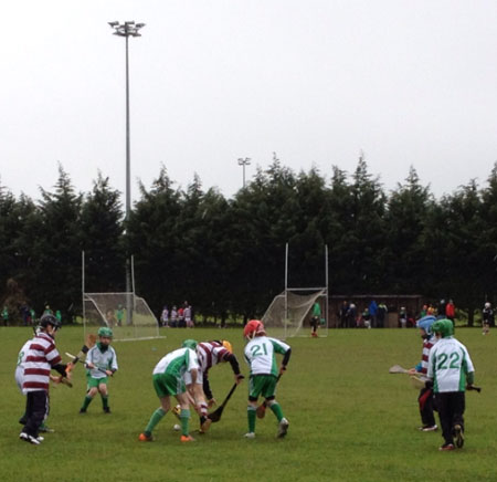 Action from the underage hurling blitz at Owenbeg.