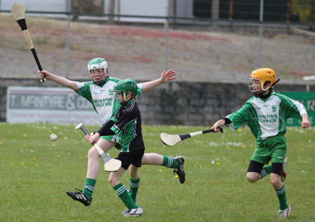Action from the under 12 blitz in Ballyshannon.