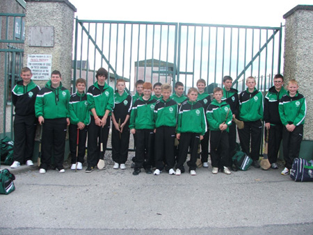 Pictures from Aodh Ruadh's underage hurlers' trip to the All-Ireland Feile