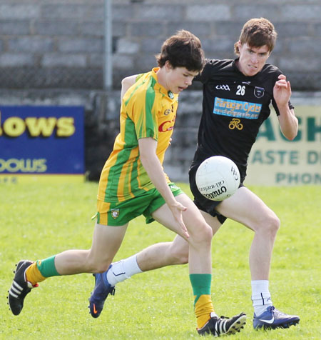 Action from the intercounty under 16 blitz hosted in Ballyshannon.