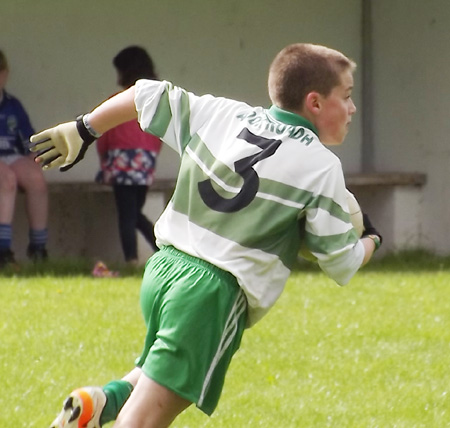 Action from the under 12 tournament between hosted by Devenish.