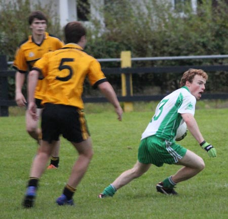 Action from the under 18 county league semi-final against Saint Eunan's.
