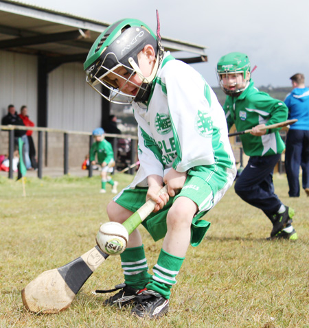 Action from the under 8 blitz at Setanta.