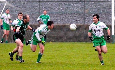 Action from the  division 3 senior game against Naomh Br�d.