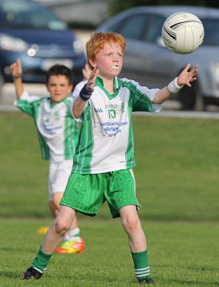 Action from the under 8 blitz in Belleek.