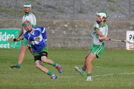 Action from the under 16 clash between Aodh Ruadh and Carndonagh.