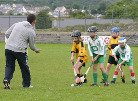 The throw in between Saint Eunan's and Aodh Ruadh.