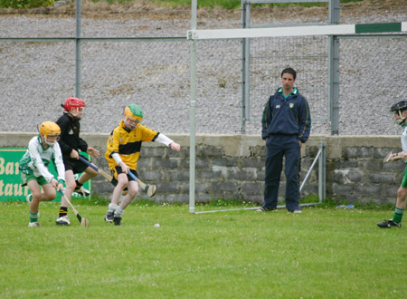 Aodh Ruadh on the attack against Saint Eunan's.