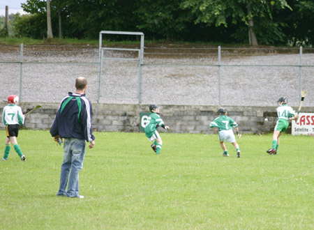 Aodh Ruadh putting on the pressure against Lisbellaw.