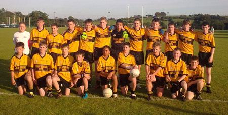 Saint Eunan's 2009 Under 14 League finalists.