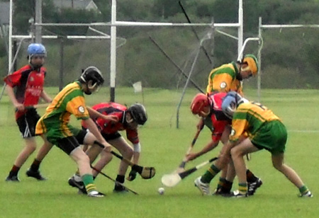 Donegal at the under All-Ireland hurling blitz.