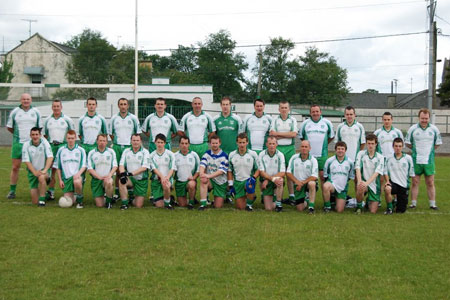 The Aodh Ruadh team ahead of their first round, second leg clash against Downings.