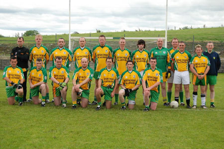 The Downings team ahead of their first round, second leg clash against Aodh Ruadh.