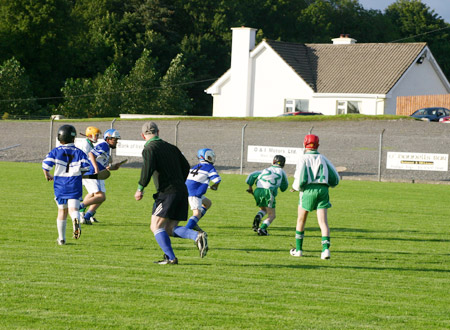 Ballyshannon on the attack.