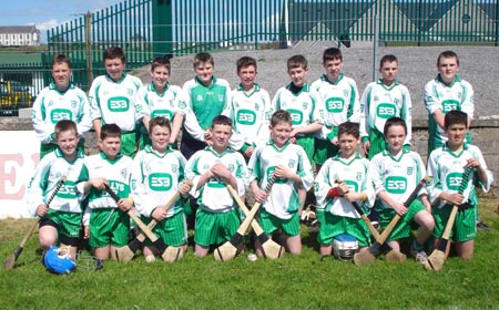Aodh Ruadh under 14 team, winners of the Seamus Grimes Memorial Trophy.