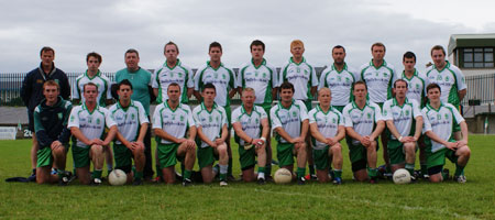 The Aodh Ruadh team ahead of division two encouter with Termon.