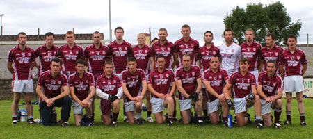 The Termon team ahead of division two encouter with Aodh Ruadh.