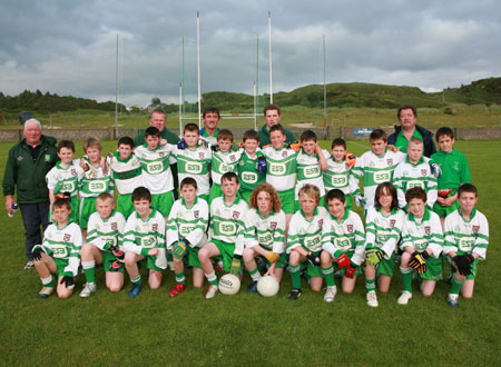 The Aodh Ruadh team who won the Southern Division One Final in Fintra.