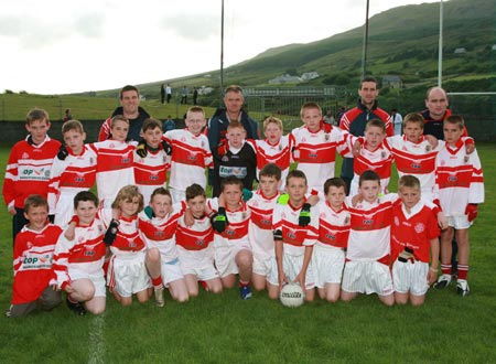 The Dungloe team who were defeated by Aodh Ruadh in the Southern Division One Final in Fintra.