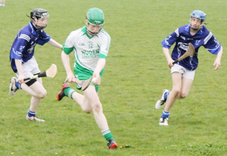 Action from the Alan Ryan / Seamus Grimes tournament.