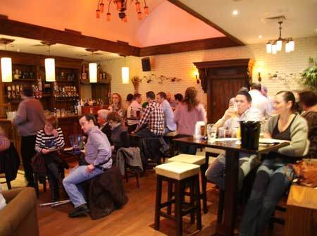 Some shots from the beer tasting night in Dicey Reilly's.