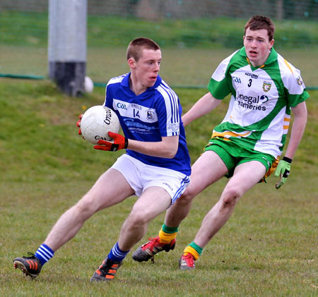 Action from the under Buncrana Cup.