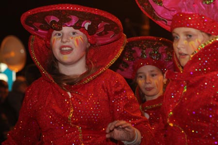 Scenes from the closing carnival of the Bluestacks Festival in Ballyshannon.